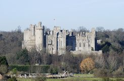 Arundel castle. Sussex. England Royalty Free Stock Photo
