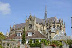 Arundel Cathedral. Sussex. England Stock Photos