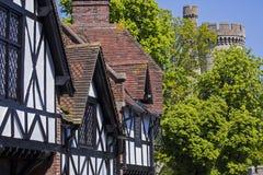 Arundel dans le Sussex occidental image libre de droits