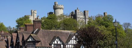 Arundel dans le Sussex occidental photo stock