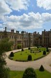 Arundel gardens. Beautiful gardens of arundel castle Stock Images