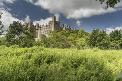 Arundel-Schloss Arundel West-Sussex Lizenzfreies Stockfoto