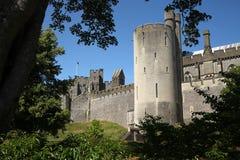 arundel slott Arkivfoton