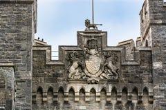 Arundel slott i västra Sussex, England royaltyfria foton