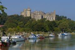 Arundel slott, västra Sussex, England UK royaltyfria bilder