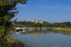 Arundel slott, västra Sussex, England UK royaltyfria foton
