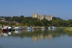 Arundel slott, västra Sussex, England UK royaltyfri fotografi