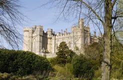 arundel slott västra sussex uk Royaltyfria Bilder