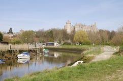 arundel slott västra sussex uk fotografering för bildbyråer