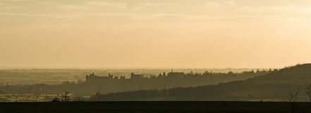 Arundel at Sunset Royalty Free Stock Photography