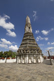 Arunwararam Bangkok Tailandia di Wat Immagine Stock Libera da Diritti