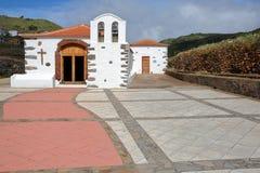 ARURE,戈梅拉岛,西班牙:Virgen de la Salud教堂  免版税图库摄影