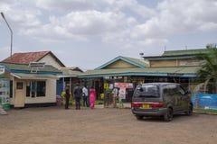Arusha flygplats, Tanzania Arkivbilder