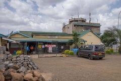 Arusha flygplats, Tanzania Royaltyfria Bilder
