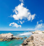 Is Arutas and clouds Royalty Free Stock Image