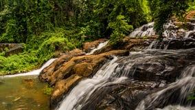 Aruvikkuzhi Waterfalls, Kerala stock photography