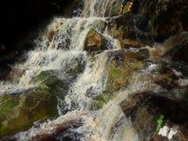 Aruwai waterfalls Guyana stock image
