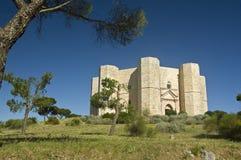 Arv för värld för Castel del Monte UNESCOplats (Italien) Arkivfoton