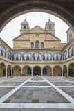 Arv f?r Ubeda Unesco-v?rld Antik sjukhusSantiagobyggnad Jaen royaltyfri bild