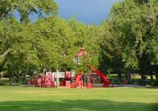 Arvada Volunteer Fire Fighters Park stock photo