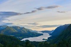 Arvagsfjorden Imagen de archivo