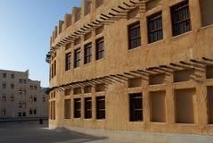 Arvarkitektur i Doha Arkivbilder