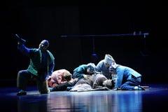ArvbehestJiangxi opera en besman Royaltyfri Bild