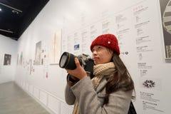 arvHong Kong museum Arkivfoto