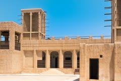 Arvhus i Dubai, UAE Arkivfoton
