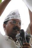 Arvind Kejriwal during a Nukkad Sabha. Stock Images