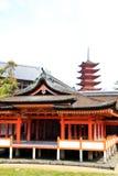 Arvrelikskrin med pagoden Royaltyfria Bilder