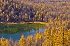 arxan λίμνη ουρανού Στοκ Εικόνες