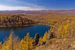 arxan λίμνη ουρανού Στοκ Φωτογραφία