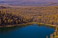 arxan λίμνη ουρανού Στοκ Φωτογραφίες