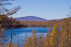 arxan λίμνη ουρανού Στοκ φωτογραφία με δικαίωμα ελεύθερης χρήσης