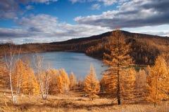 arxan λίμνη ουρανού Στοκ Εικόνα