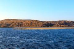 Arxan lasu państwowego Halny park Zdjęcie Royalty Free