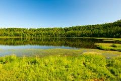 Arxan niebiański jezioro Zdjęcia Royalty Free