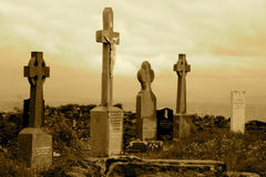 Aryan Islands Cemetery Stock Image