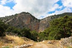 Arycanda古老废墟在安塔利亚附近的土耳其 免版税图库摄影