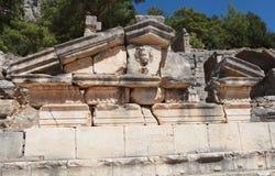 Arycanda Ancient City in Antalya, Turkey. Stock Photography