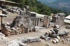 Arycanda Ancient City in Antalya, Turkey. Stock Photo