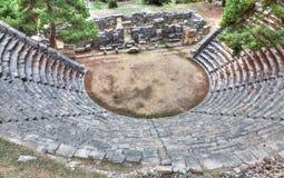 Arykanda antiguo, fotografía de HDR Imagen de archivo libre de regalías