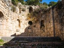 Arykanda-Ruinen Stockfoto