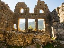 Arykanda-Ruinen Lizenzfreies Stockbild