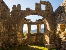 Arykanda-Ruinen Stockfotos