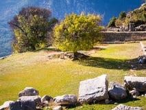 Arykanda-Ruinen Lizenzfreie Stockfotos