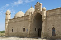 Arystan Bab Mausoleum, South Kazakhstan province, Kazakhstan. Stock Images