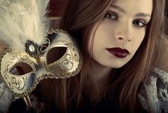 arystokrata maska Zdjęcie Royalty Free
