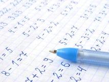 arytmetyka Obraz Stock